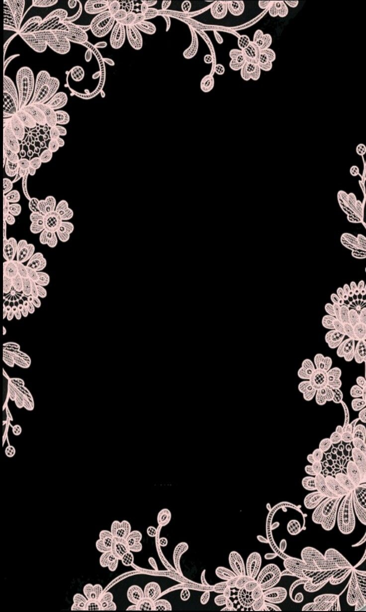Black And White Lace Lace Wallpaper Black And White Wallpaper