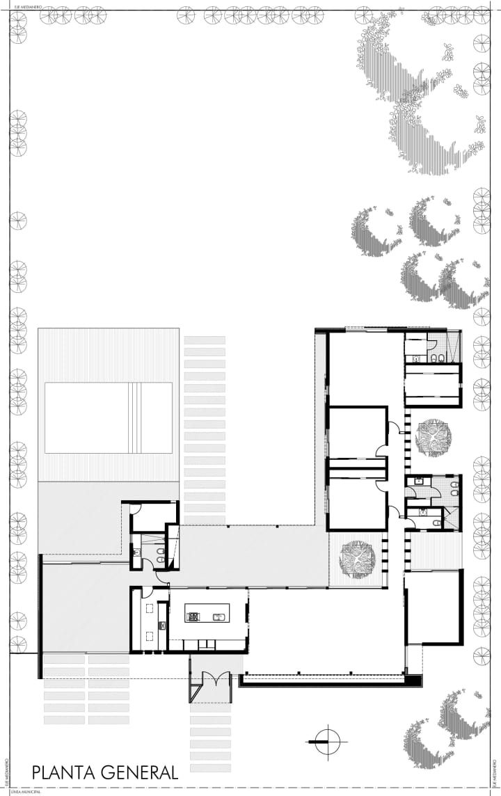 Horizontal House | IDEAS FOR VILLAS | Pinterest | House and Contemporary