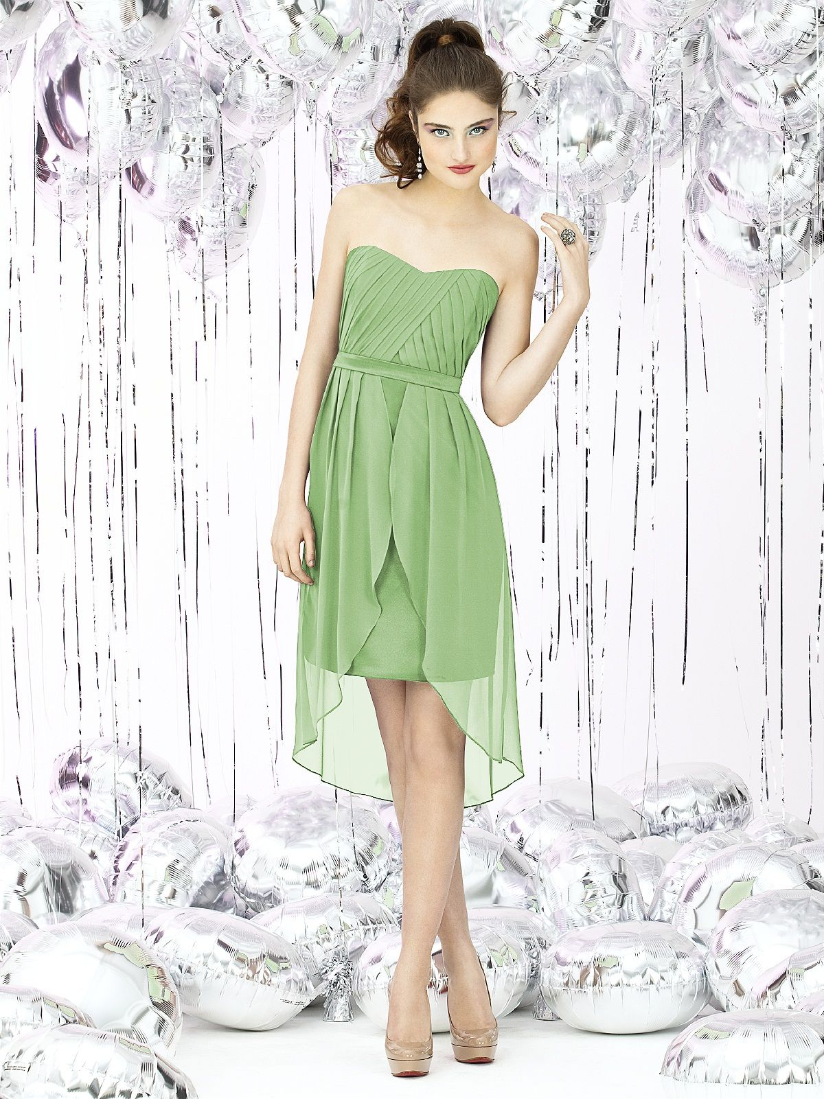 Apple Slice Bridesmaids Dress