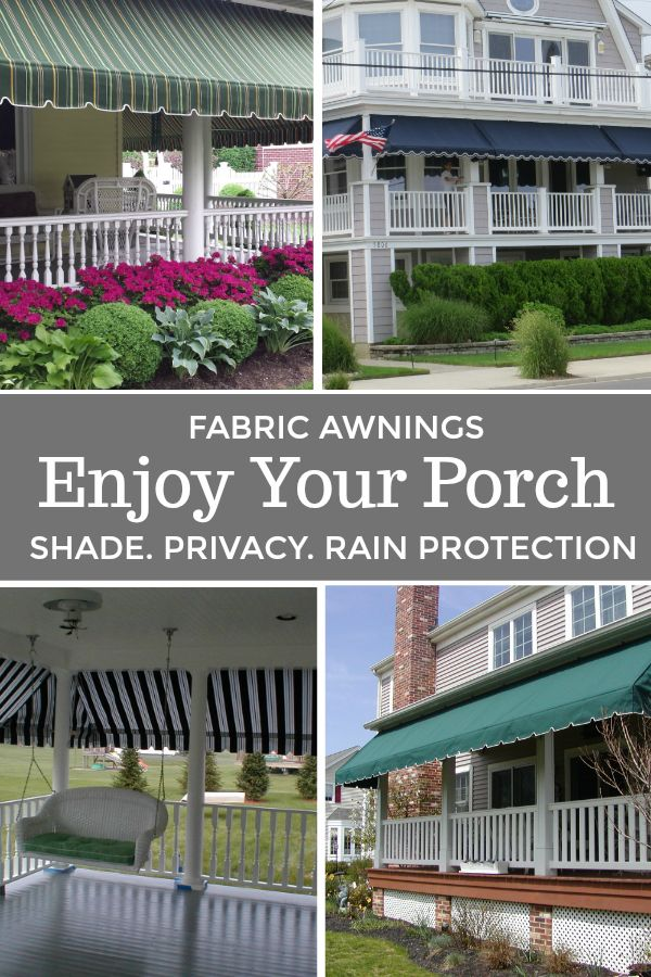 Porch Awnings Porch Awning Outdoor Awnings Fabric Awning