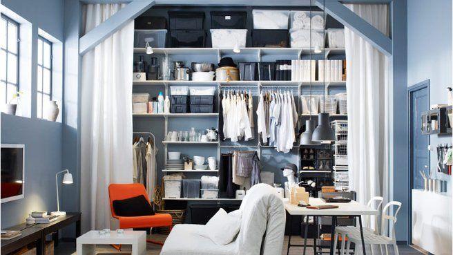 quelles solutions pour optimiser un petit espace petits espaces pinterest espaces. Black Bedroom Furniture Sets. Home Design Ideas