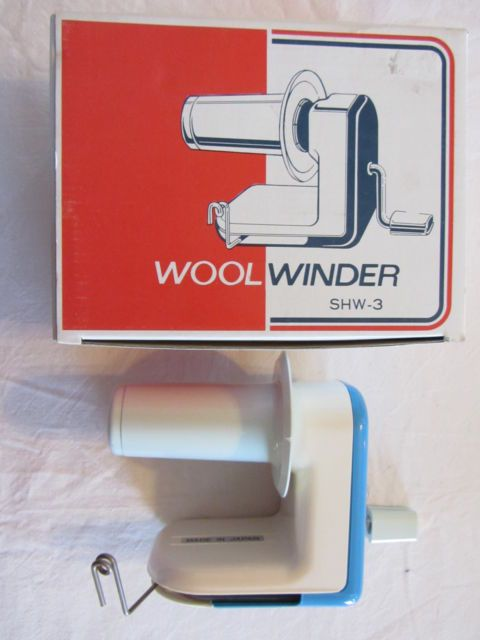 Knitmaster / Silver SHW-3 Wool Winder for Knitting Machines ...