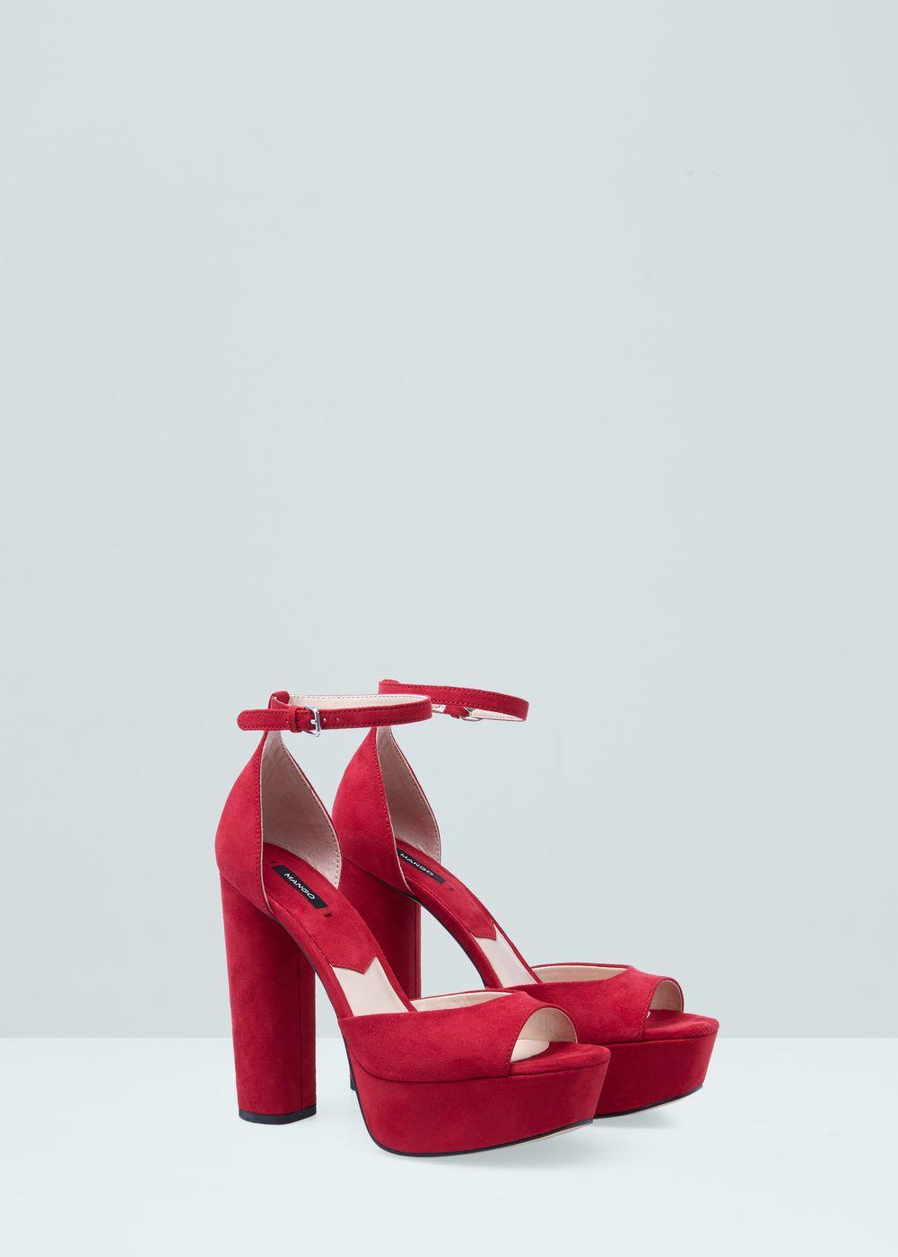 Sandalia pulsera plataforma Mujer | Zapatos mujer, Zapatos
