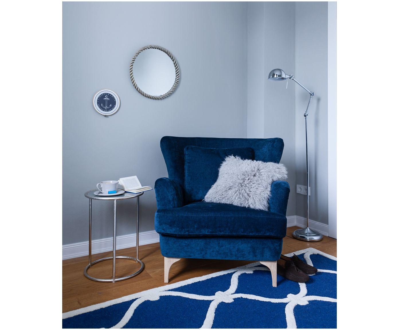 Raum für Raum einen passenden Anstrich für Ihr zu Hause: Wandfarbe Steinblaue Schönheit in Grau-Blau von ALPINA FEINE FARBEN bei >> WestwingNow. Wandfarbe Grau-Blau - ALPINA FEINE FARBEN #alpinafeinefarben