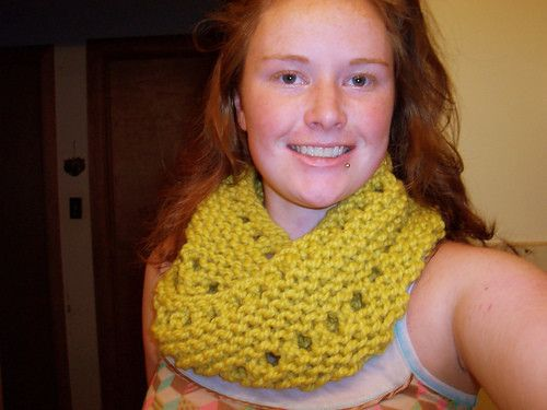 Life Is Uneven Cowl  •  Free tutorial with pictures on how to make a cowl in under 90 minutes