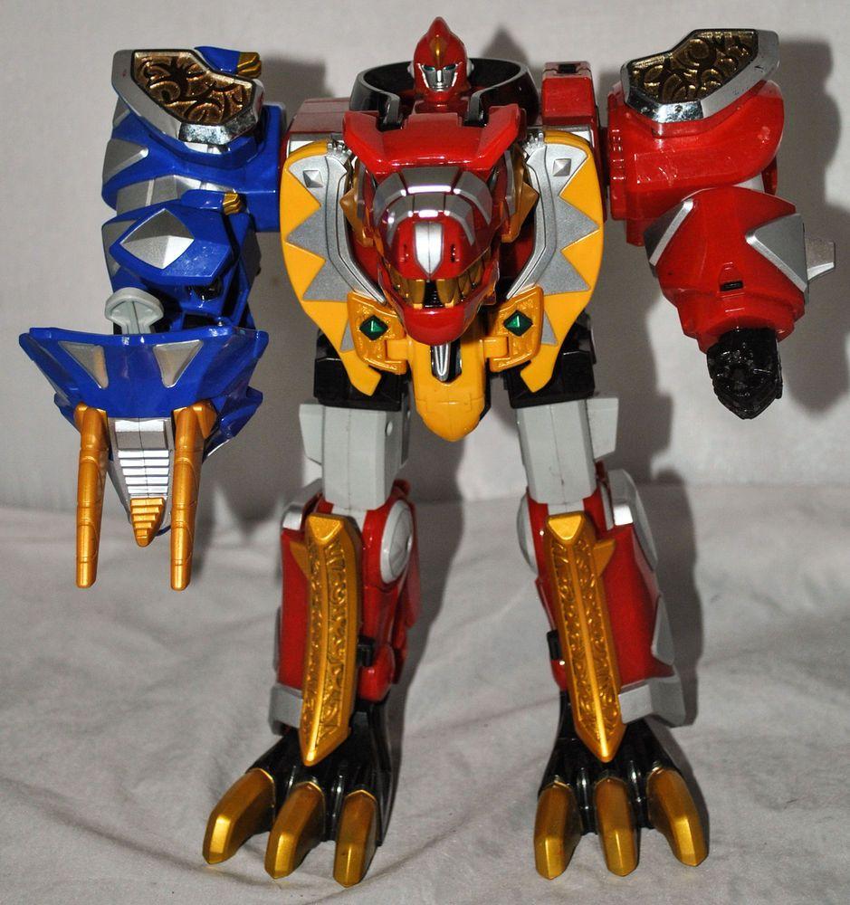 Toy thundersaurus megazord