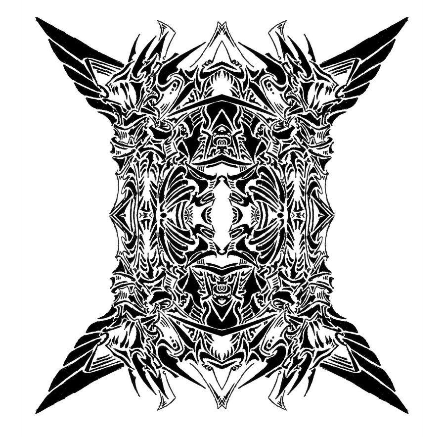 symbols tribal devil symbol 9 by ancient germanic warrior tattoos german warrior tattoos. Black Bedroom Furniture Sets. Home Design Ideas