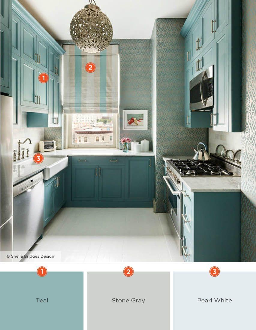 20 Enticing Kitchen Color Schemes Kitchen Colour Schemes