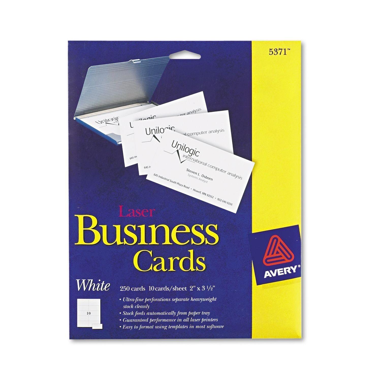 Visitenkarten Walmart Drucken Mit Avery Business Card