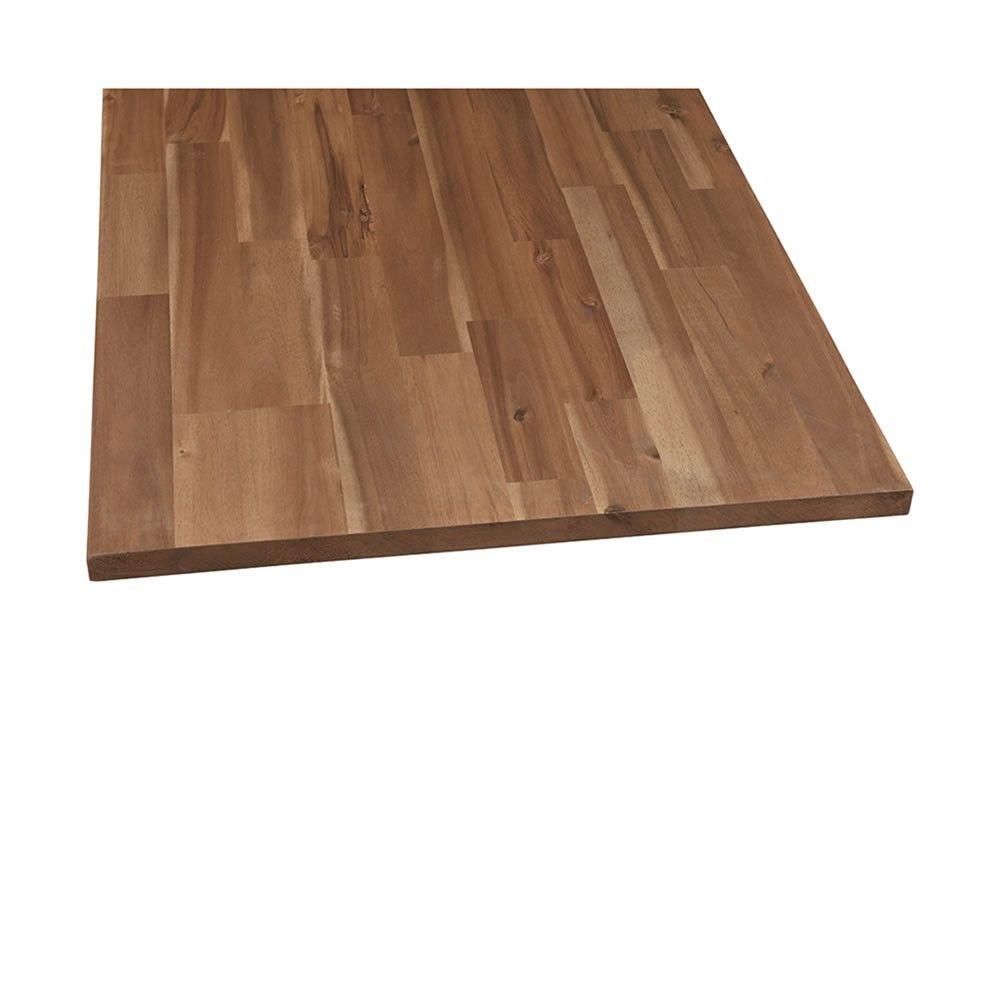 Leimholz Akazie Geolt 1200x600x18mm Massivholz Regalboden Leimholz Holz Regal