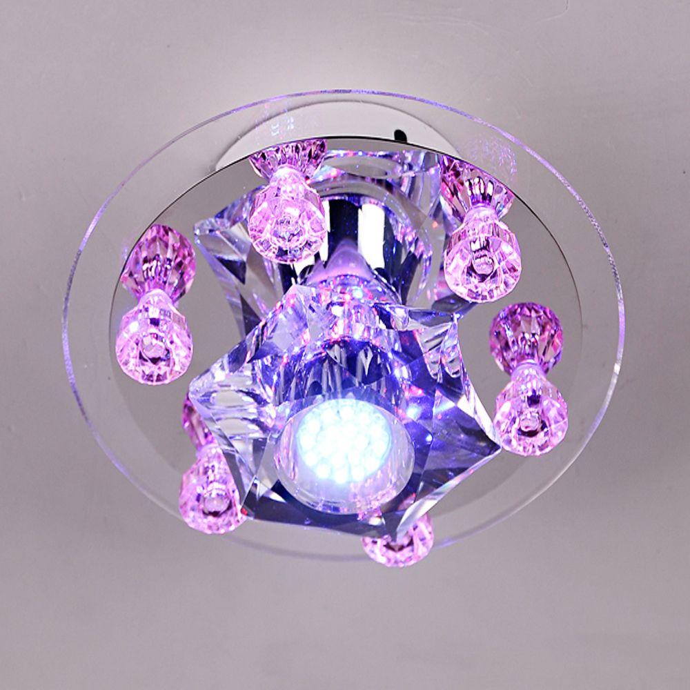 Crystal Led Spotlight Bulbs Home Lighting Recessed Luminaire 110v 220v Led Downlight Light Emitting Diode Ceiling Spotlights Spotlight Bulbs Led Spotlight Downlights