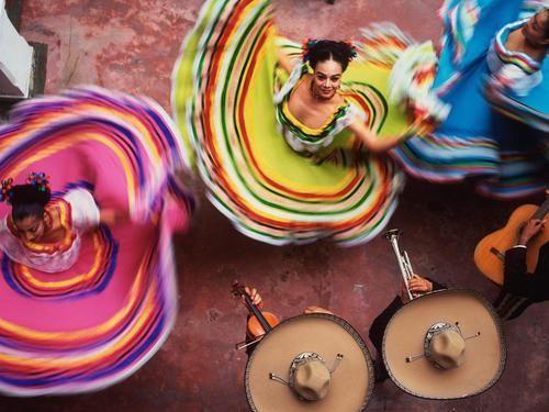 Immagine di mexico, dance, and woman