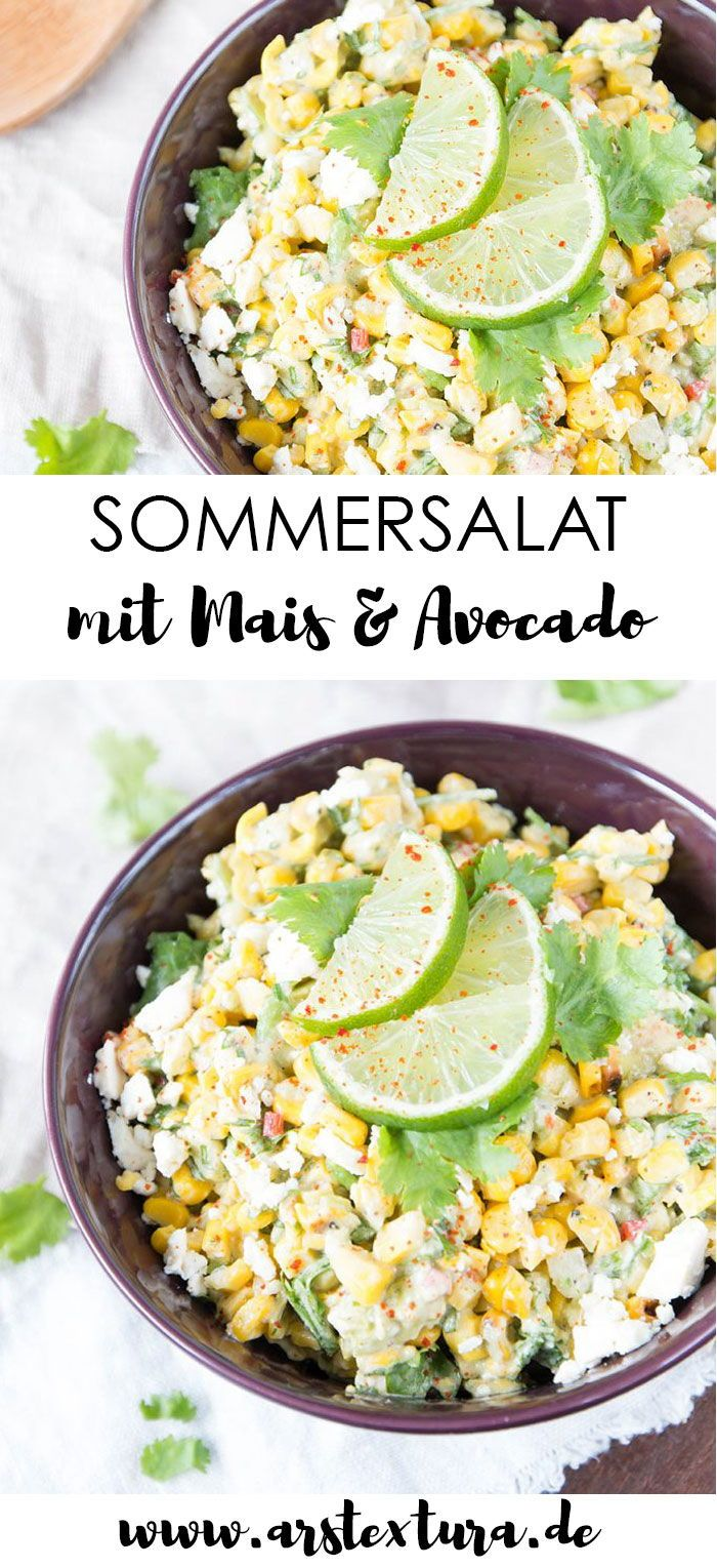 Mexikanischer Maissalat vom Grill | ars textura – DIY-Blog #festmad