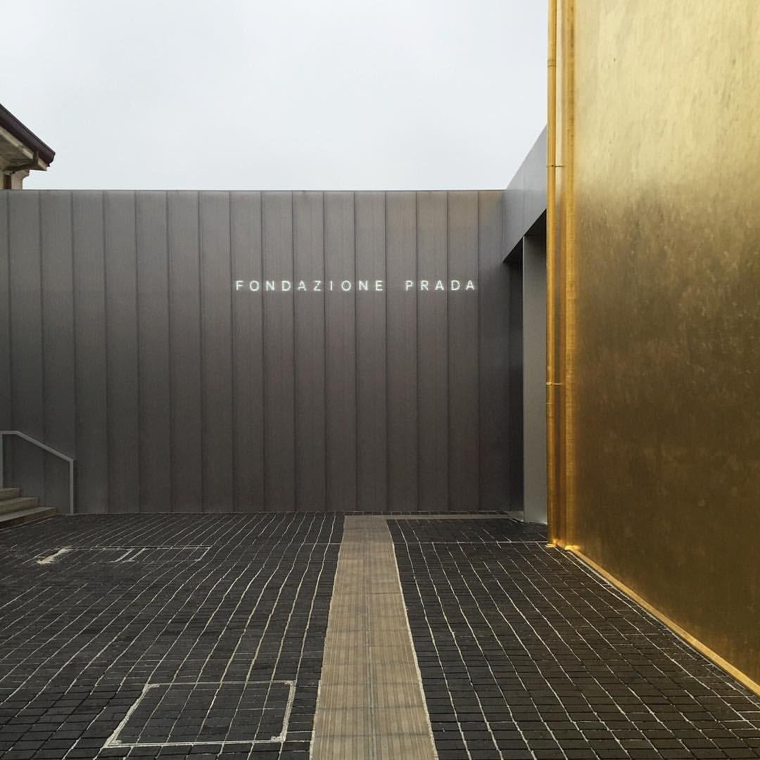 Congratulations! Very impressive! #fondazioneprada #pradafoundation #milan #gold #oma #koolhaas