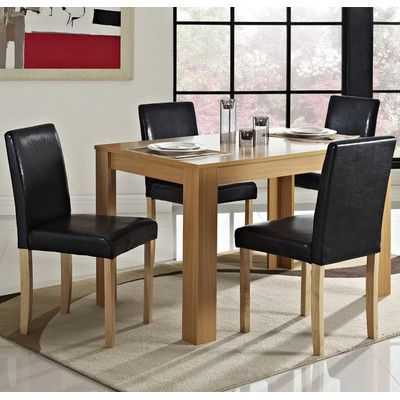 Addison Dining Table and 4 Chairs   Wayfair UK