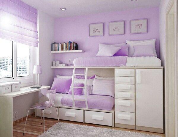Madchenzimmer In Flieder Girls Bedroom Sets Small Room Bedroom Bedroom Layouts