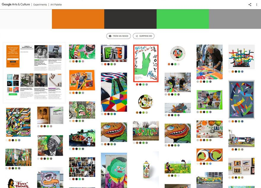 New Google Search Tool For Creatives Upload An Image Shows You