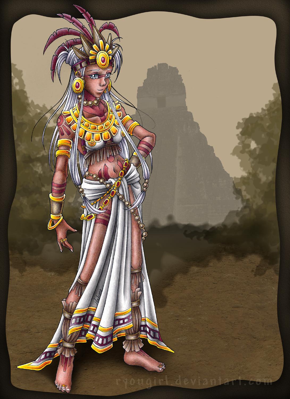 ancient aztec clothing - HD1091×1500