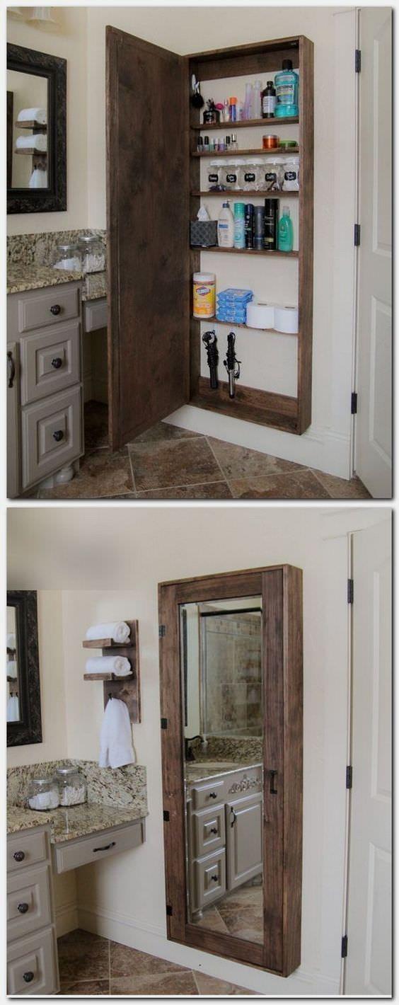 Rustic Bathroom Inspirations Bathroom Storage Solutions Clever