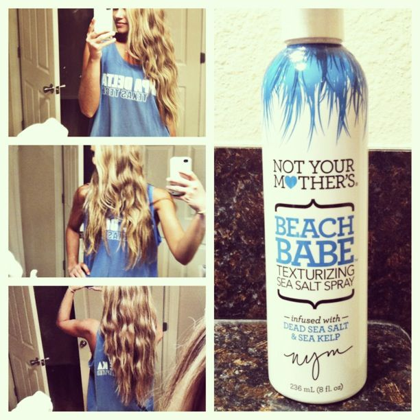 Beach Hair By Not Your Mother S Beach Babe Texturizing Sea
