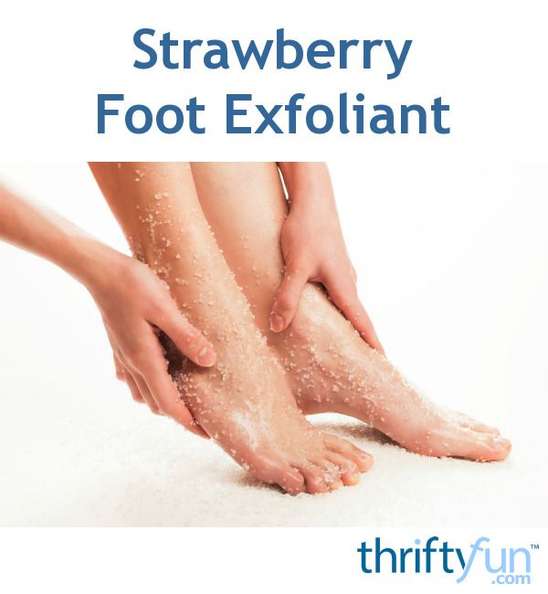 Strawberry Foot Exfoliant