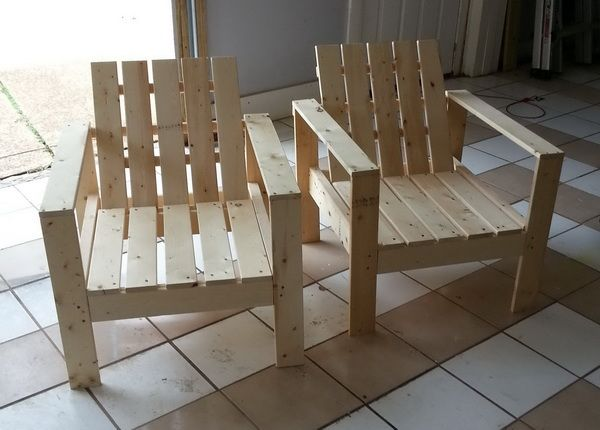 How To Build A Simple Diy Outdoor Patio Lounge Chair Diy Patio