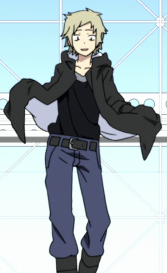 Shuya Kano - Mekukacity Actors (Kagerou Project) - Hoodie. inside of hoodie. Clickthrough for full cosplay reference guide!