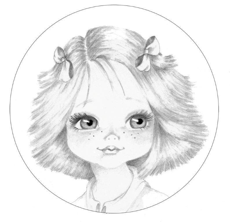 Annabel Coloring Book Art Chibi Drawings Cute Coloring Pages