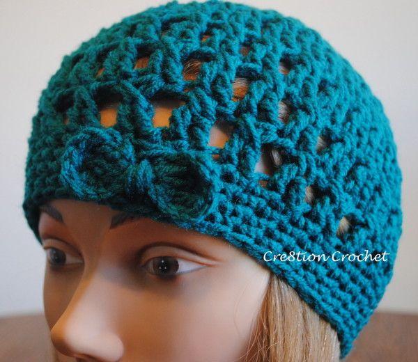 Crochet Hipster Hat Free Pattern | Pinterest