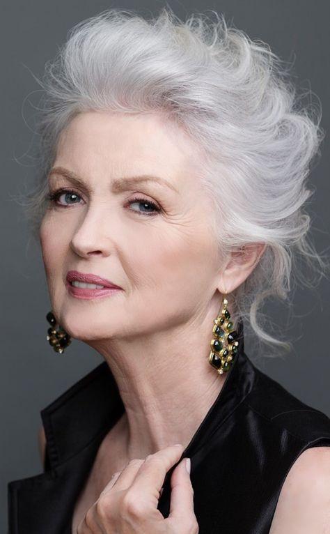 51 Ideas for hair silver grey aging gracefully #aginggracefully