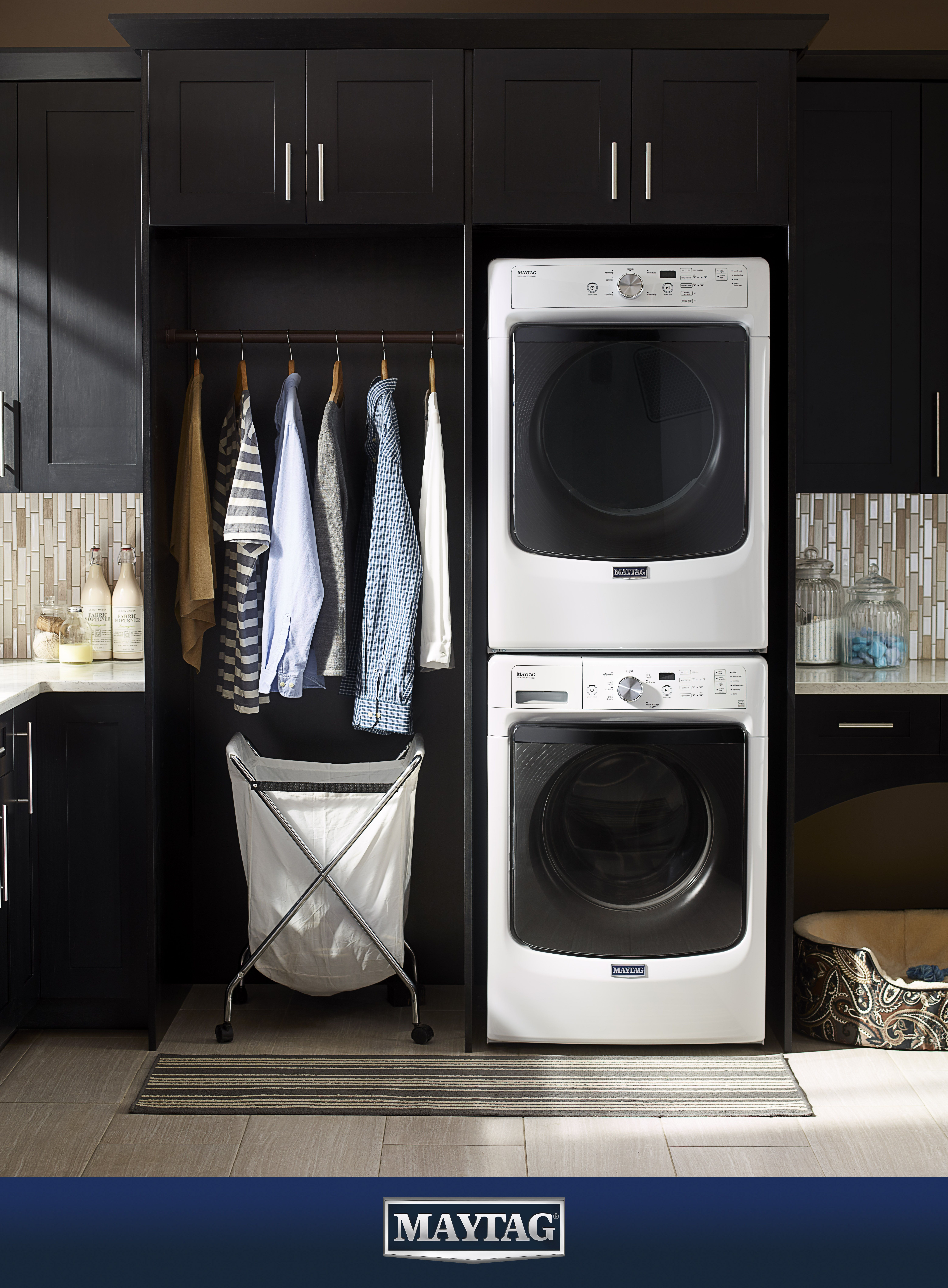 Behold The Tower Of Dependability When It Comes To Laundry Day
