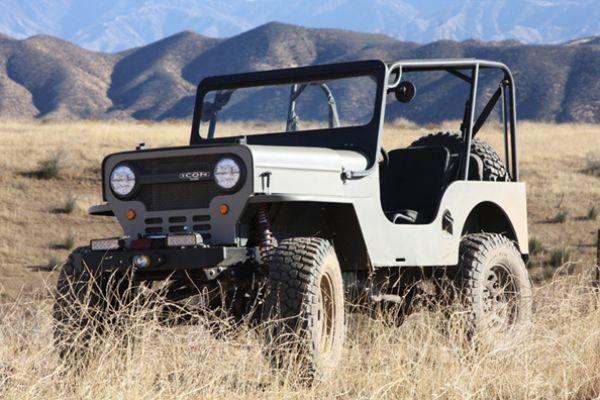 1960 Icon Willys Jeep Jeep Toyota 4x4