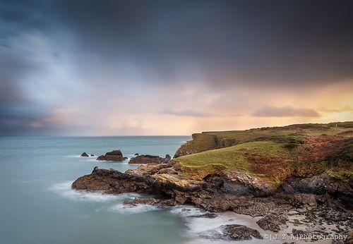 Pembrokeshire Coastal Path at Sunset