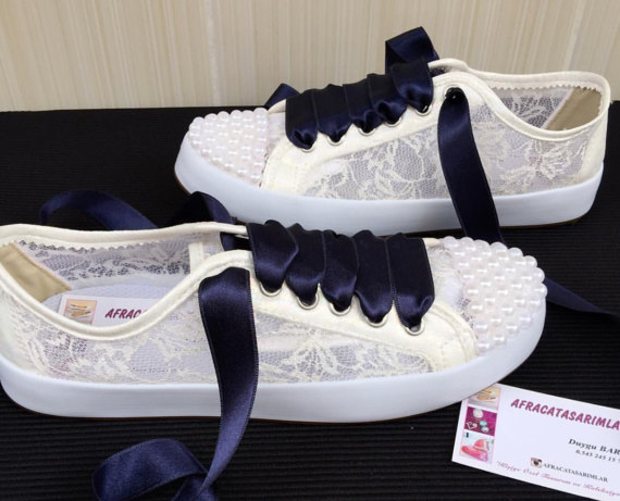 d2517b465eb Lace Converse Pearl Converse Bridal Shoes Wedding Converse