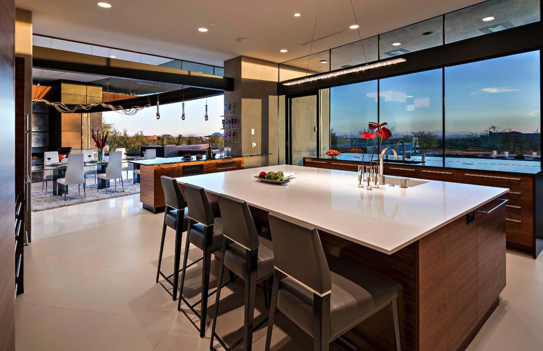 Dream home in the Arizona desert merges indoor/outdoor