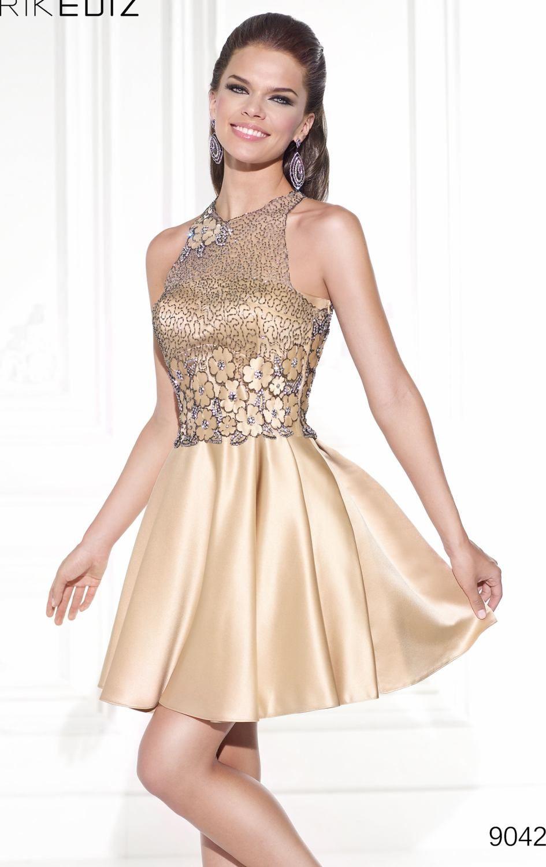 Tarik Ediz 90420 Dress Missesdressy Com Cocktail Dresses With Jackets Satin Homecoming Dress Metallic Prom Dresses [ 1500 x 945 Pixel ]