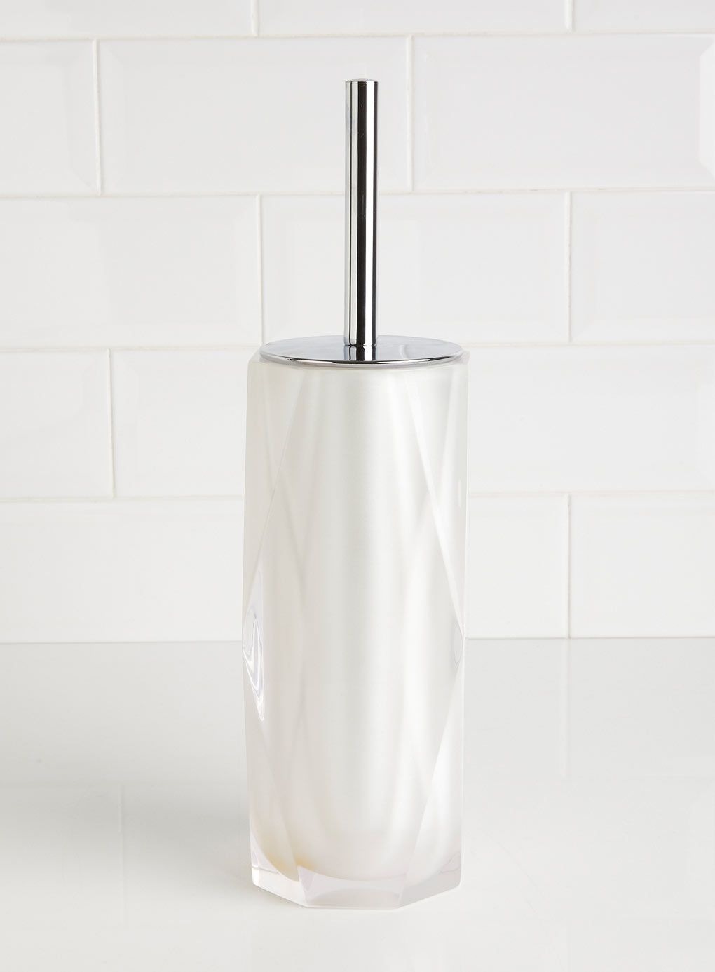 Pearl faceted toilet brush | Bathrooms | Pinterest | Toilet brush ...