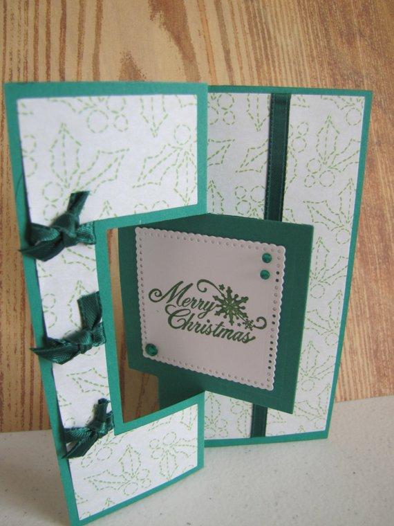 fa2433810 Handmade Merry Christmas Unique Flip Card