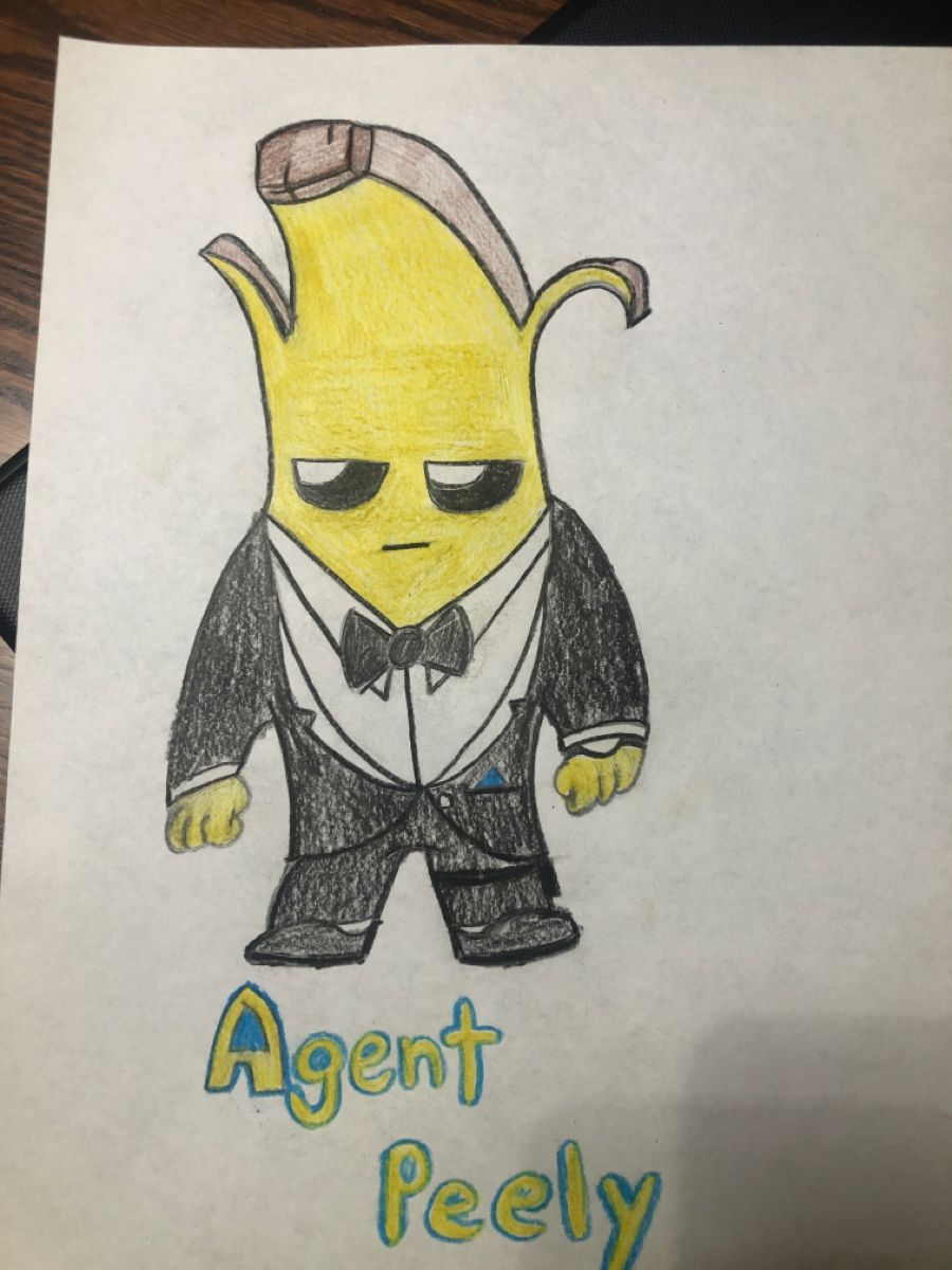 Pin On Agent Peely