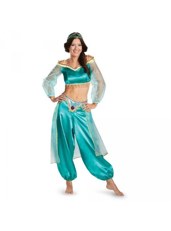 Sexy Erwachsenen Prinzessin Jasmin Kostüm