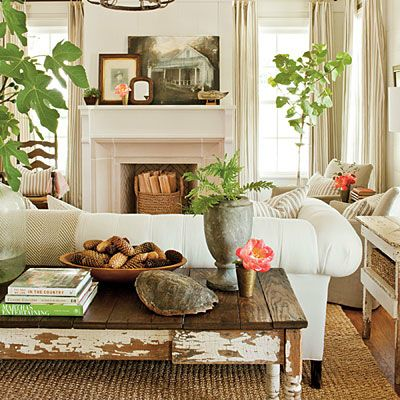 Dreamy Dwelling: Southern Living Idea House...entire Home Tour! #dreamhome