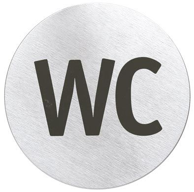 Signo Water Closet Sign Water, Closet doors and Bathroom accessories