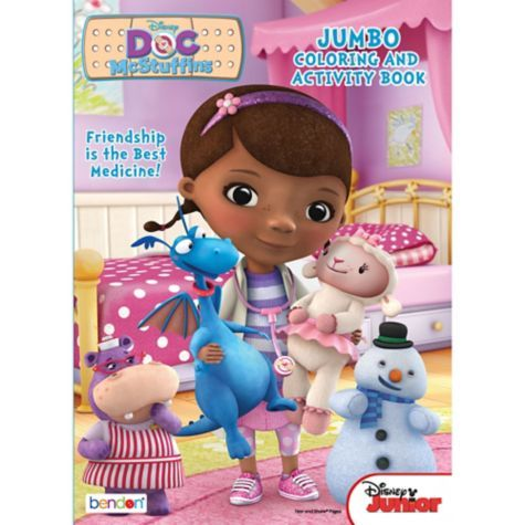 Doc McStuffins Coloring Activity Book