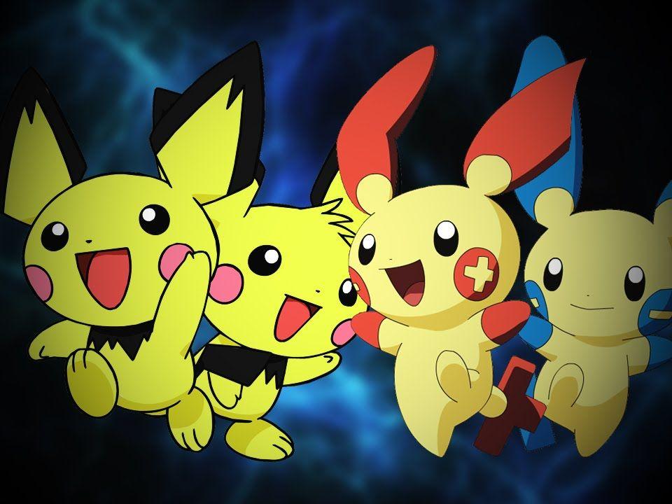 Pichu Bros. vs Plusle & Minun. Epic Rap Battles of Pokémon ... Pichu Pikachu Raichu Rap