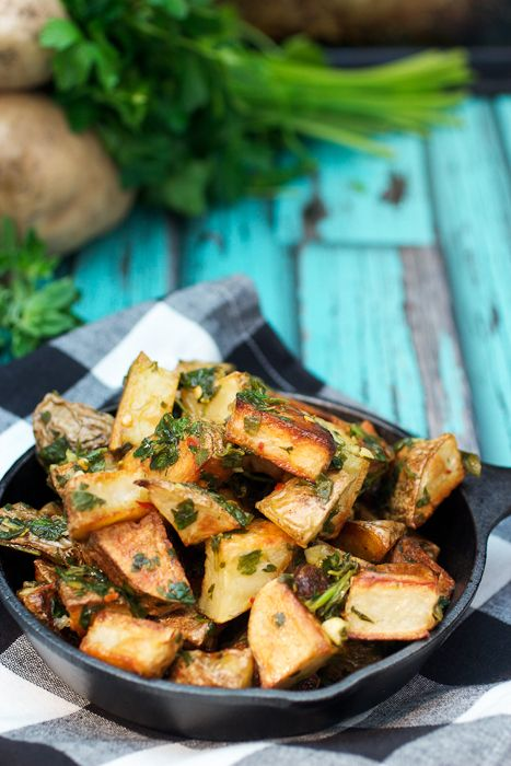 Chimichurri Roast Potatoes