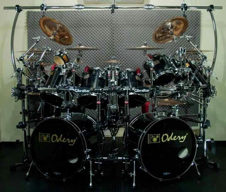 odery double bass kit cool drum kits drums double bass drum set double bass. Black Bedroom Furniture Sets. Home Design Ideas