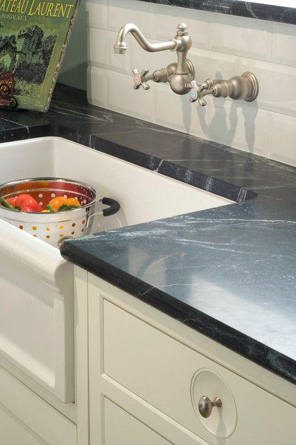 Kitchen Studio of Kansas City design; Herbeau farmhouse sink ...