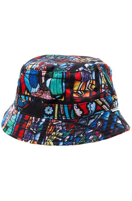 99888dba225 The Stained Glass Bucket Hat in Multi
