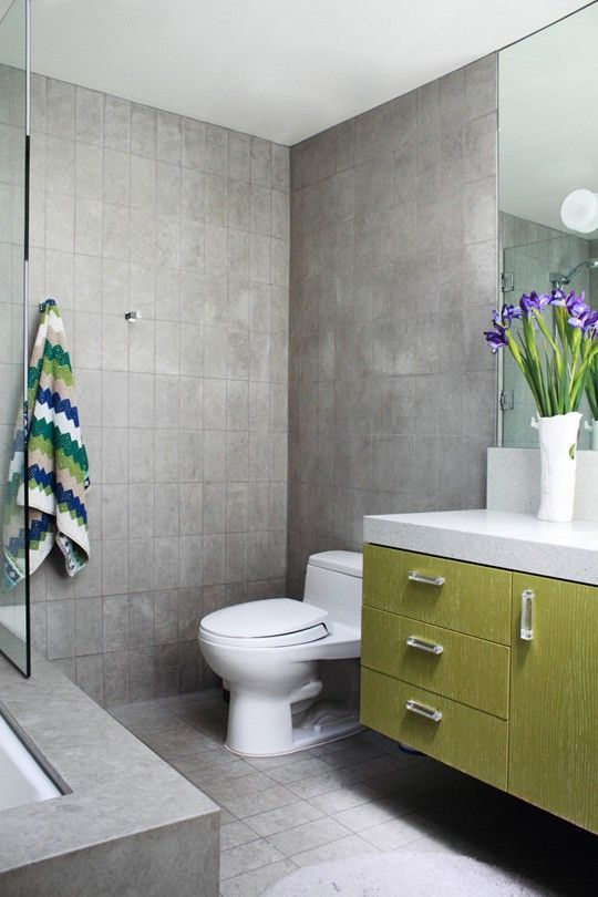 gray and green bathroom combination of gray and green color in the interior green  gray bathroom