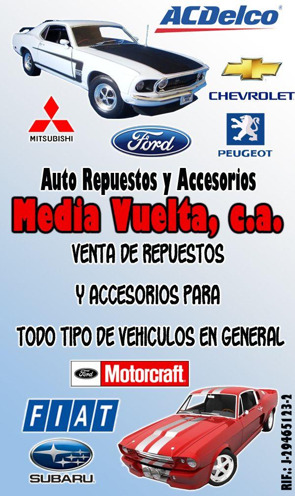 Auto Repuestos Y Accesorios Media Vuelta C A